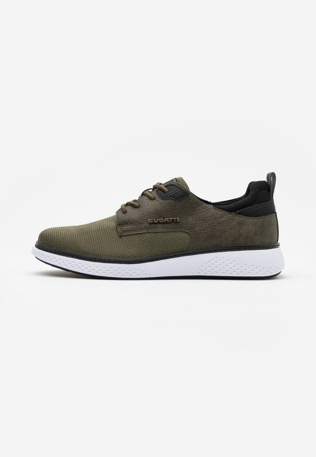 DEXTER - Sneakers laag - dark green