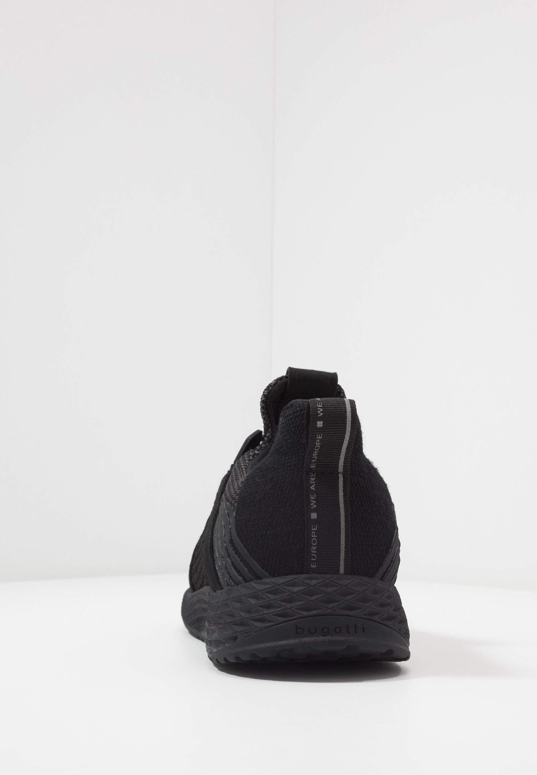 Bugatti Java Ii - Sneakers Laag Black/dark Grey Goedkope Schoenen
