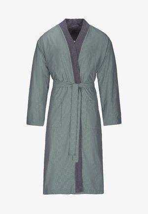 MIT EINEM DEZENTEM ALL-OVER LOGODESIGN - Dressing gown - grey