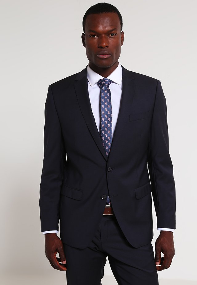 SLIM FIT - Traje - marine