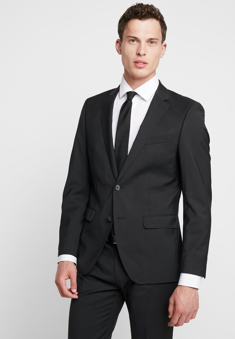 Bugatti - SLIM FIT - Anzug - schwarz