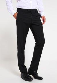 Bugatti - Oblekové kalhoty - black - 0
