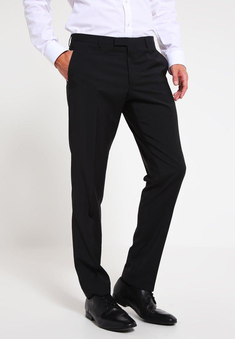 Bugatti - Oblekové kalhoty - black
