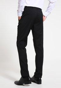 Bugatti - Oblekové kalhoty - black - 2