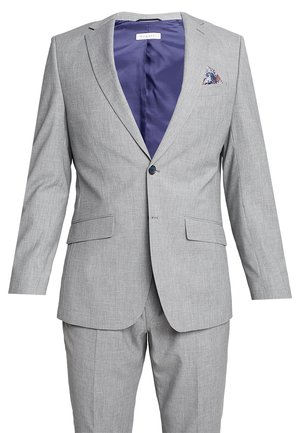 SUIT REGULAR FIT - Completo - light grey