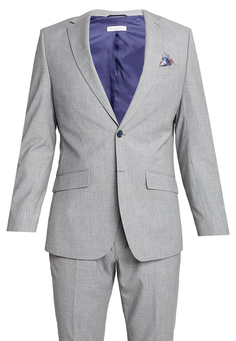 Bugatti - SUIT REGULAR FIT - Suit - light grey