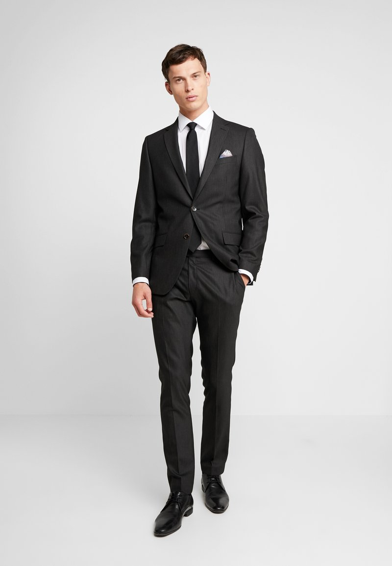 Bugatti - SUIT SLIM FIT - Kostym - black