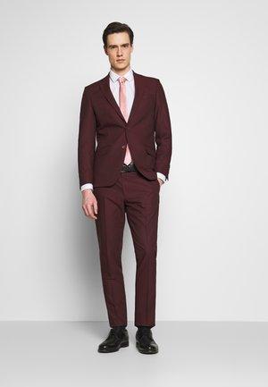 SUIT - Oblek - burgundy