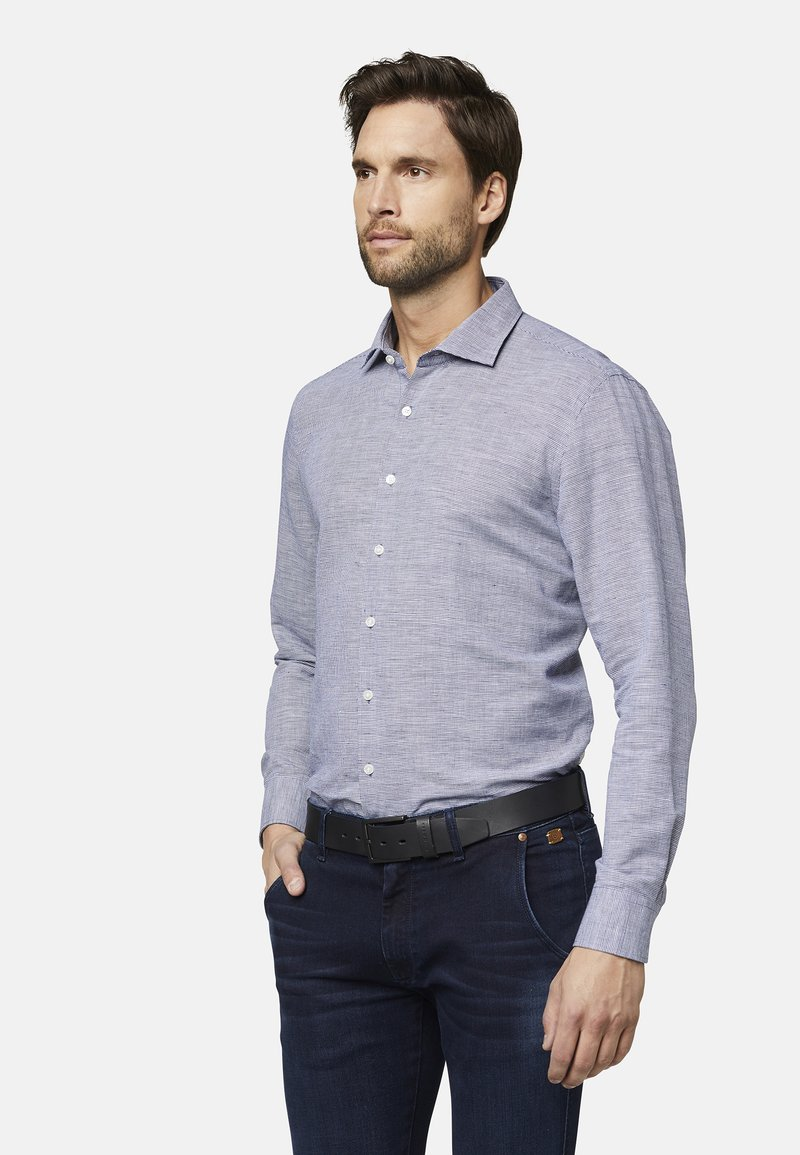 Bugatti - MODERN FIT - Shirt - dark blue