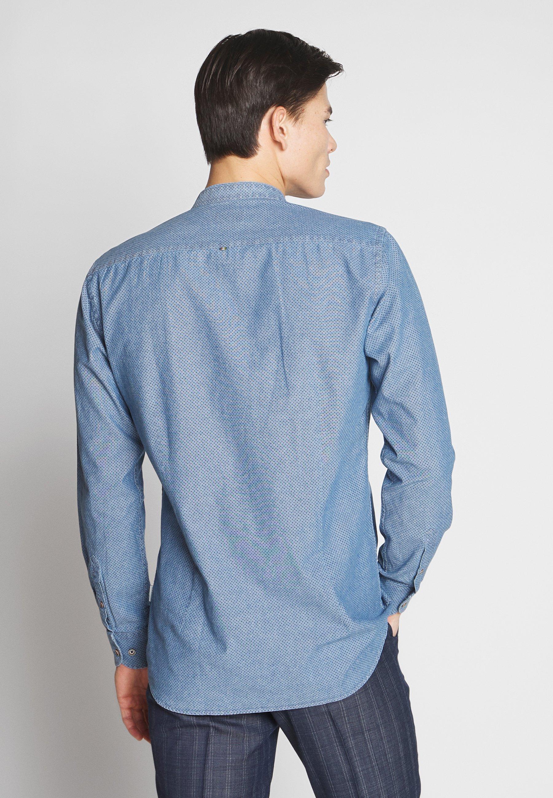 Bugatti Kostymskjorta - Blue N2dKbMy