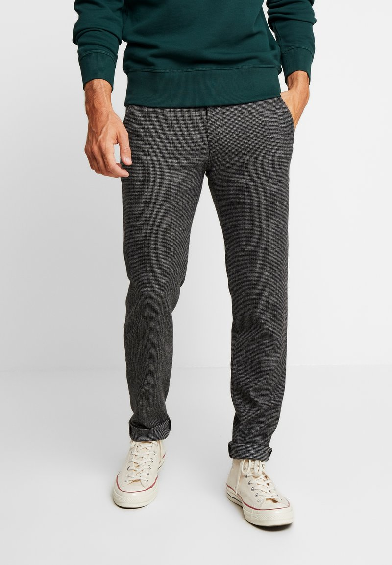 Bugatti - TROUSER - Trousers - grey