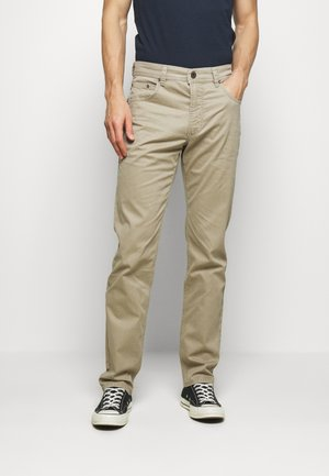 BROKEN TWILL TROUSER - Trousers - beige