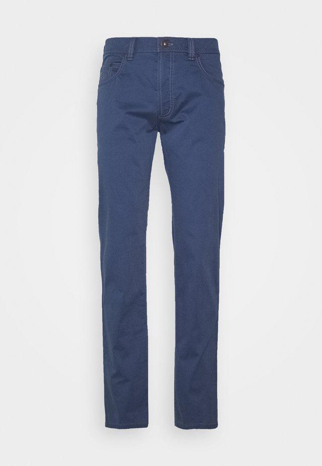 BROKEN TWILL TROUSER - Pantaloni - blue