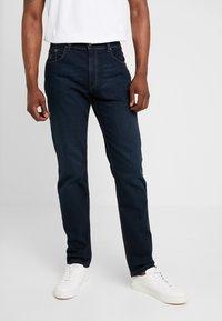 Bugatti - NEVADA - Straight leg jeans - blue-black - 0