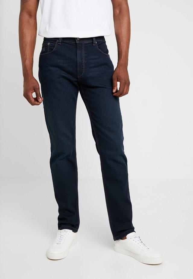 NEVADA - Jeansy Straight Leg - blue-black