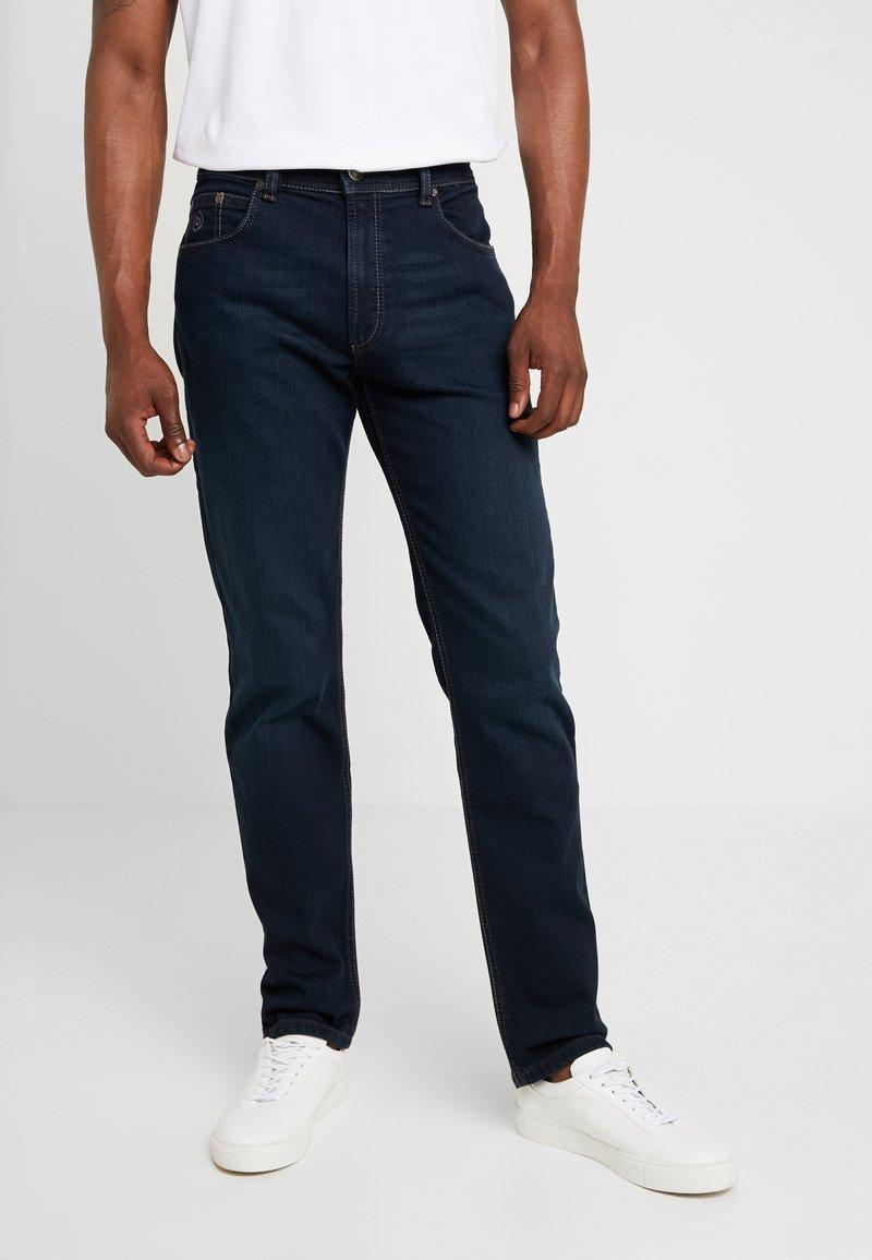 Bugatti - NEVADA - Straight leg jeans - blue-black