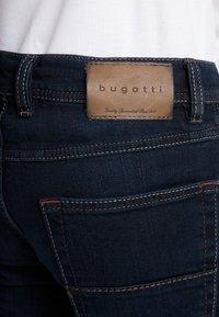 Bugatti - NEVADA - Straight leg jeans - blue-black - 5