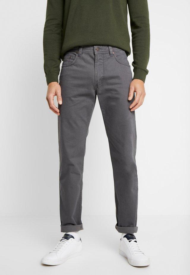 FIVE-POCKET - Spodnie materiałowe - blue