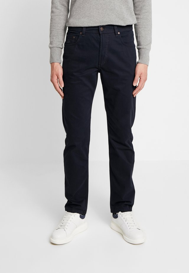 FIVE-POCKET - Trousers - marine