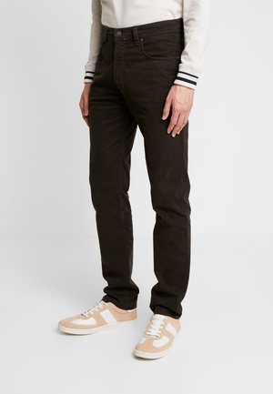 FIVE-POCKET - Bukse - dark brown