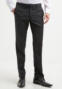 Bugatti - Pantalon de costume - black - 0