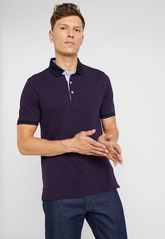 Koszulka polo - plum