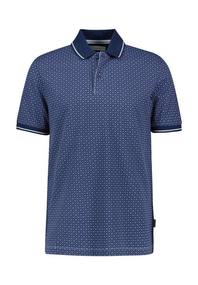 BUGATTI HERREN POLOSHIRT KURZARM - Polo shirt - bleu (50)