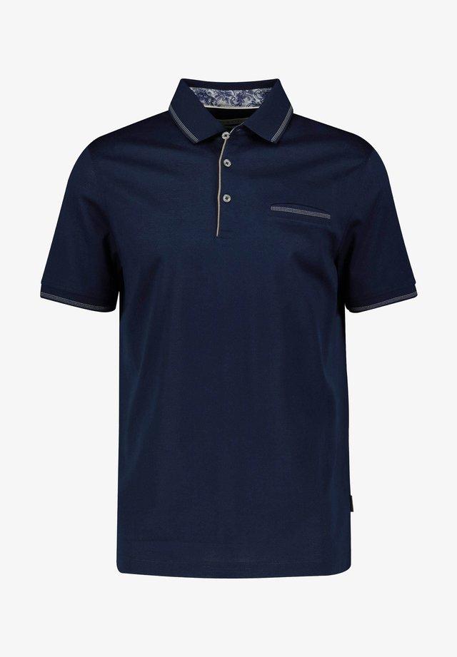 BUGATTI HERREN POLOSHIRT KURZARM - Polo shirt - dark blue