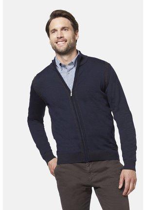 MIT DEZENTEN  - Zip-up hoodie - dark blue