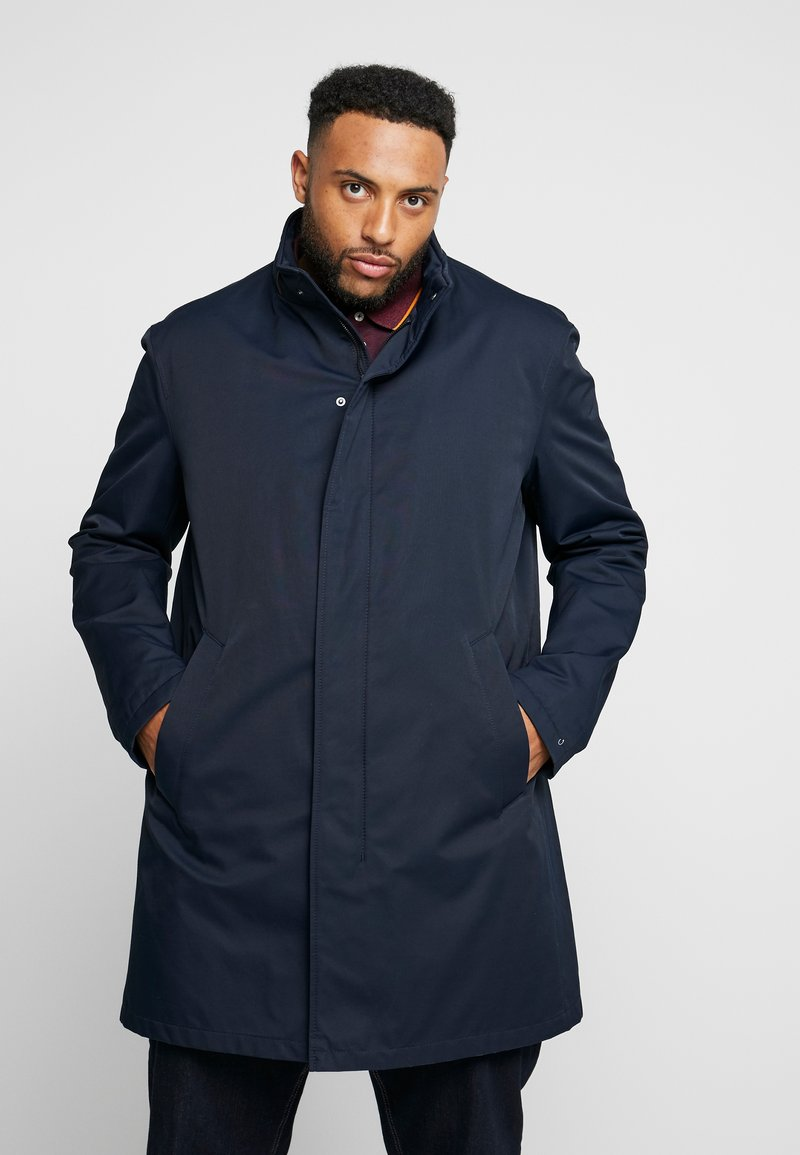 Bugatti - COAT PLUS - Mantel - navy