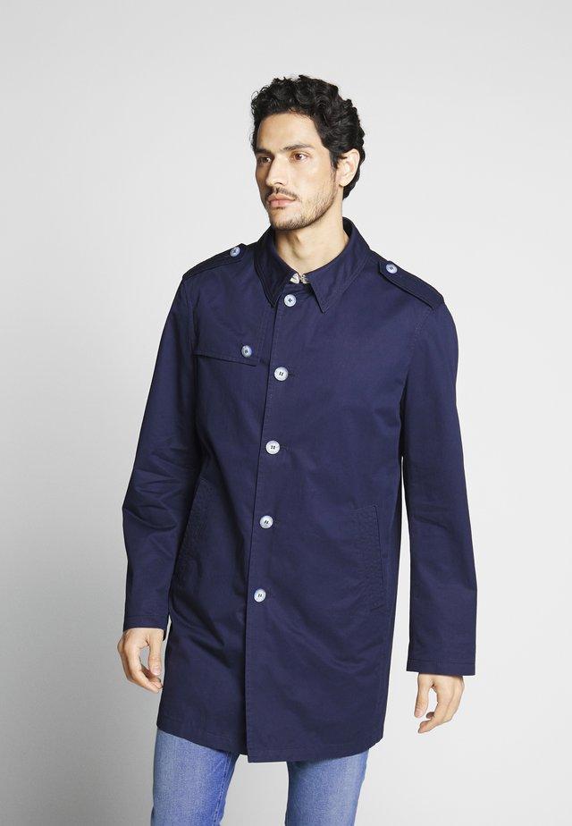 DELTON FABRICS - Trenchcoat - dark blue
