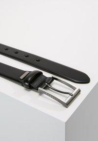 Bugatti - NARROW - Cinturón - black - 2