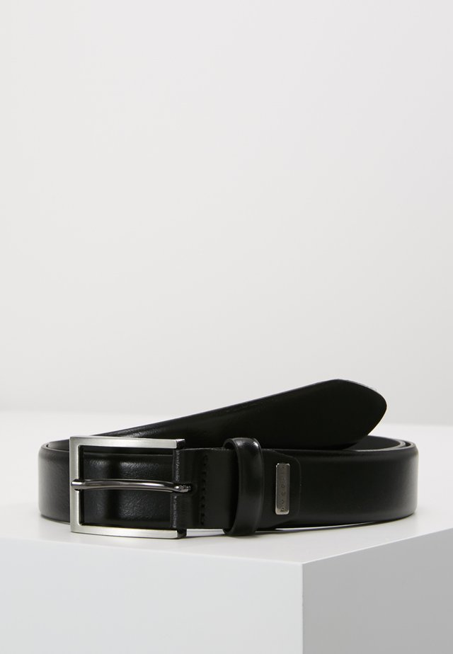 NARROW - Belt business - black