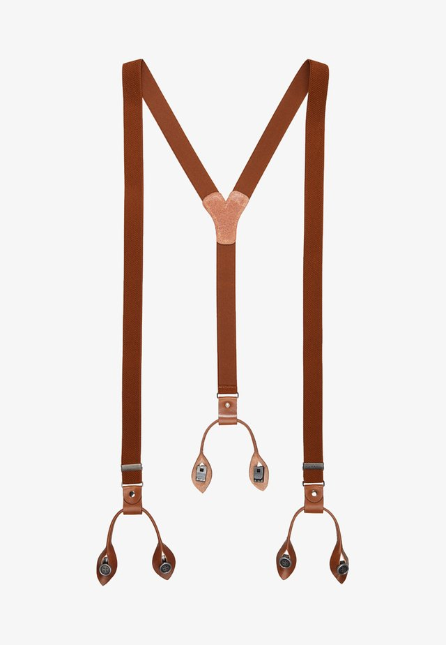 BRACES - Belt - cognac