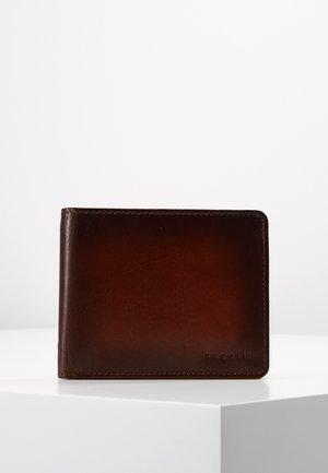 DOMUS RFID WALLET WITH FLAP - Peněženka - cognac