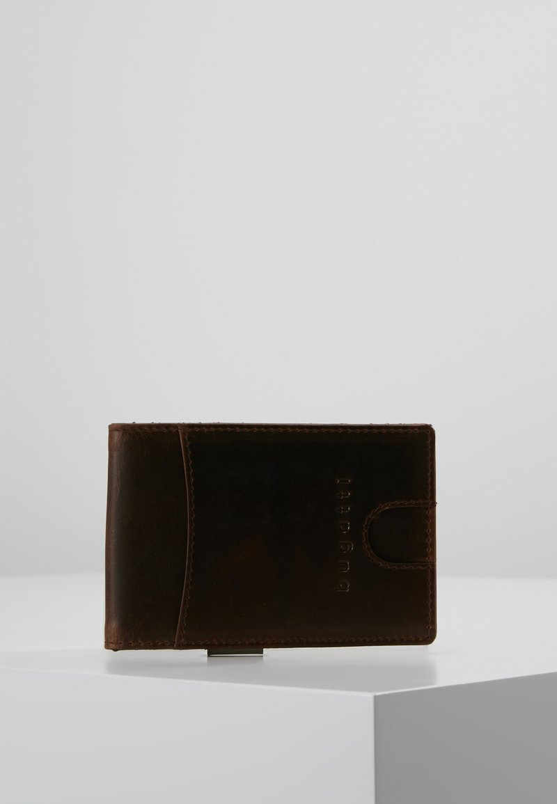 Bugatti - CREDITCARD CASE WITH DOLLARCLIP - Portemonnee - brown