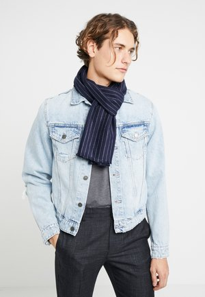 BRUSHED - Scarf - navy