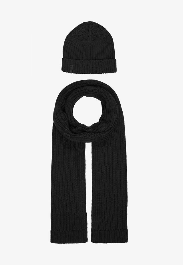 REPEATS OF SET - Scarf - dark grey