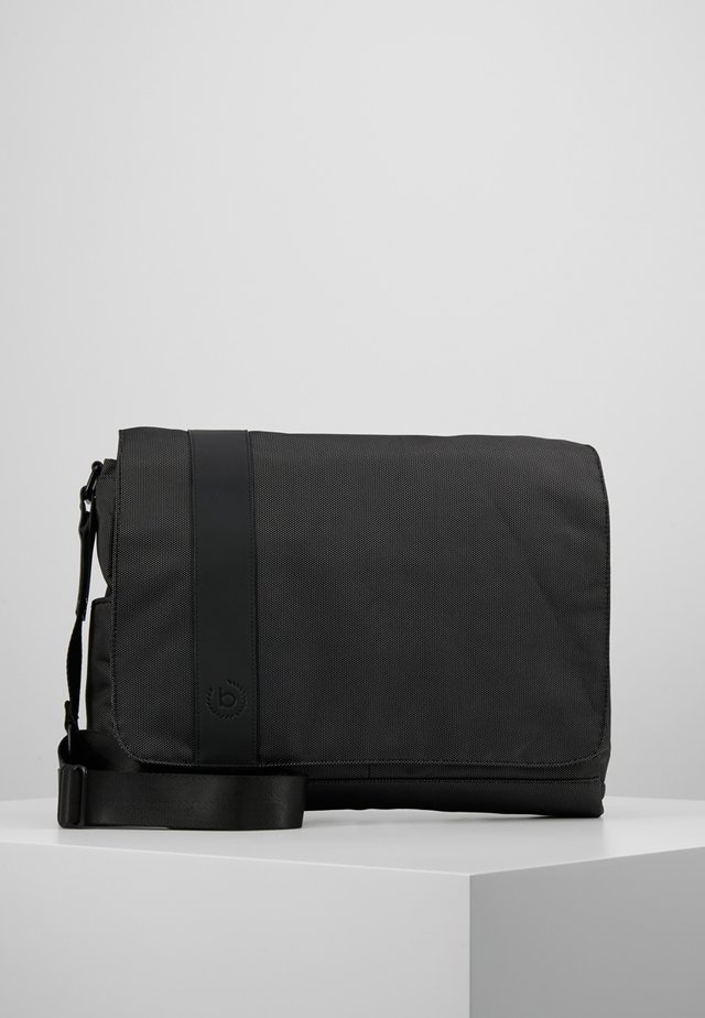 DOMANI MESSENGER BAG - Axelremsväska - anthrazit