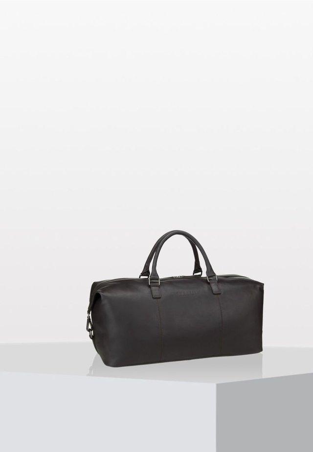 Weekend bag - dark brown