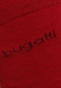 Bugatti - 6 PACK - Sokker - rio red/anthracite melange/black - 3