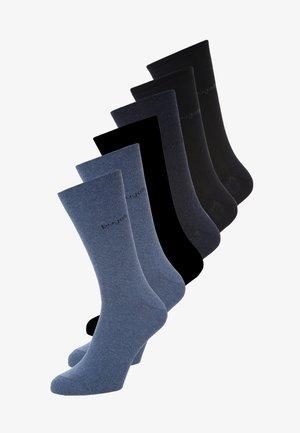 6 PACK - Socks - light denim melange/indigo melange/dark navy