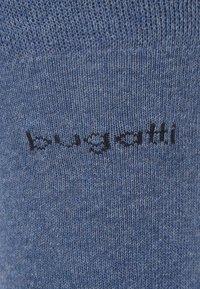 Bugatti - 6 PACK - Strumpor - light denim melange/indigo melange/dark navy - 4