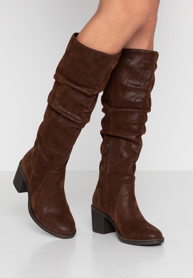 Støvler - dark brown