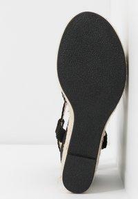 Bullboxer - Sandalen met hoge hak - black - 6