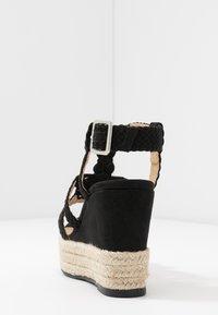 Bullboxer - Sandalen met hoge hak - black - 5