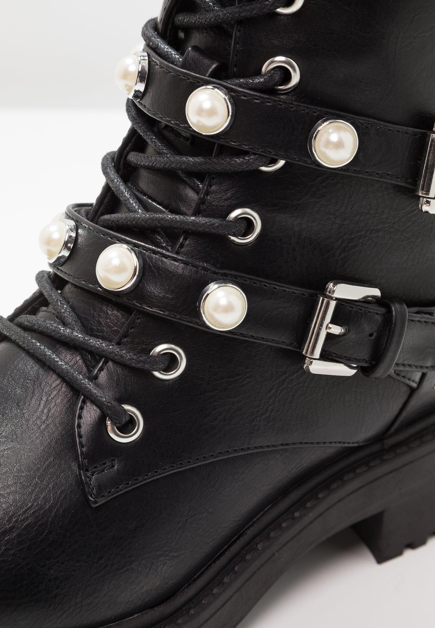 Bullboxer Botki kowbojki i motocyklowe - black