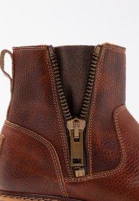 Bullboxer - Classic ankle boots - cognac - 2
