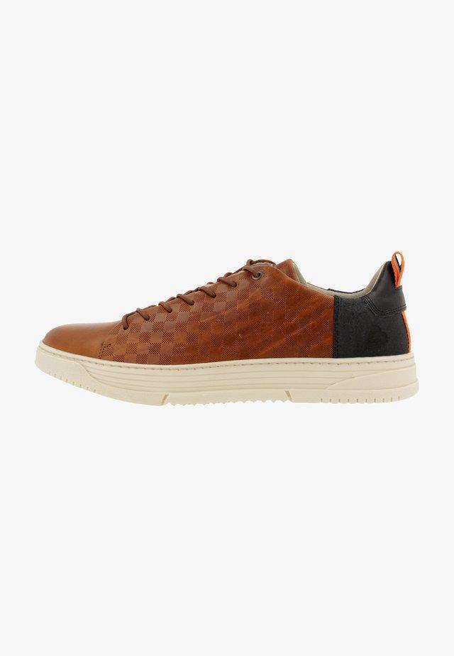 Sneakersy niskie - tan/cognac