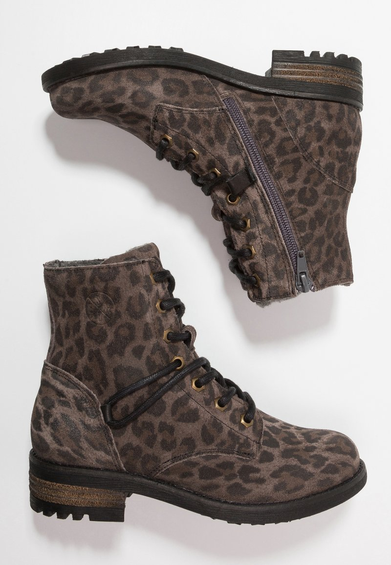 Bullboxer - Lace-up ankle boots - grey